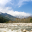 The river Beas near the town Manali