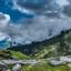 Landscape in Himalayas, Kullu, Himachal Pradesh, India