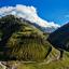 Himalayan valley in Himalayas. Lahaul valley, Himachal Pradesh, India