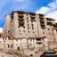 Leh Monastery looming over medieval city of Leh