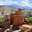 Ancient Fortress and Buddhist Monastery (Gompa) in Basgo, Leh district India