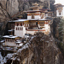 Light Snow in Taktsang Monastery (Tiger's Nest) - Bhutan