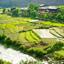 Bhutanese Houses in Paro Valley, Bhutan