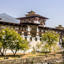 The Majestic Dzong of Punakha, Bhutan, is situated between Two Rivers.