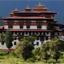 Monastery in Punaka, Bhutan