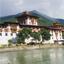 Punakha Dzong , Punakha, Bhutan, Asia
