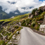 Road to Rohtang pass. India