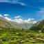 View OF Parvati  Sangla Valley, Himachal Pradesh, India
