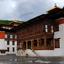 Tashichho Dzong in Thimphu Bhutan