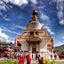 Thimphu Chorten is the most visible religious landmark in Thimphu.