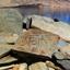 Mani Signs on Tso Lake Moriri in the Rupshu Valley