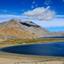 View on Korzok village and Tso Moriri Lake,India