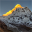 Sunrise at Annapurna