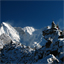View of Cho Oyu From Gokyo