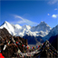 View of Cho Oyu From Gokyo Ri