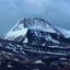Gurla Mandhata Mount and Holy Manasarovar Lake under ice, Western Tibet