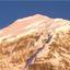 Mt. Jomolhari at dawn from Jangothang