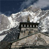 Kedarnath Temple and Mountain
