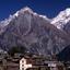 Day Light View of Kinnaur Kailash