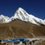 Everest trek - Lobuche to Gokyo section, via Cho La pass