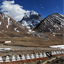 Buddhistic Stupas (Chorten) in Tibet and Holy Mount Kailash