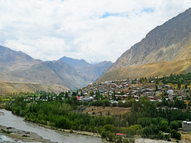 Kargil district, Kashmir, India