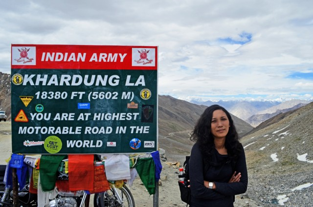 Cycling the Worlds's Highest Motorable Road - Khardung La