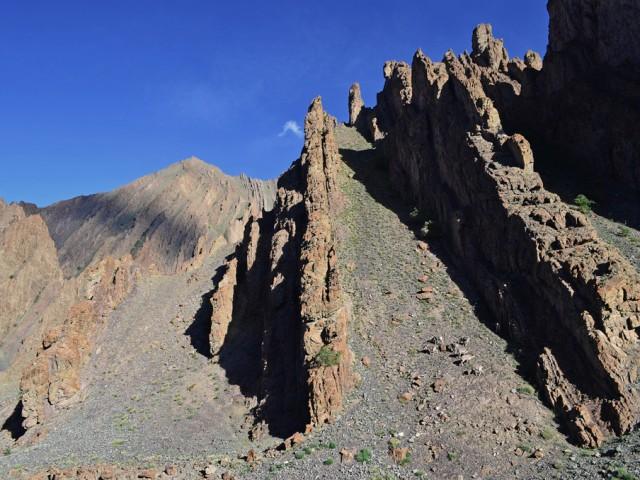 Overturned Indus Formation