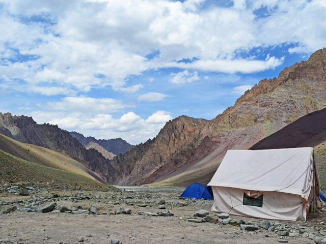 Tents at Mankorma