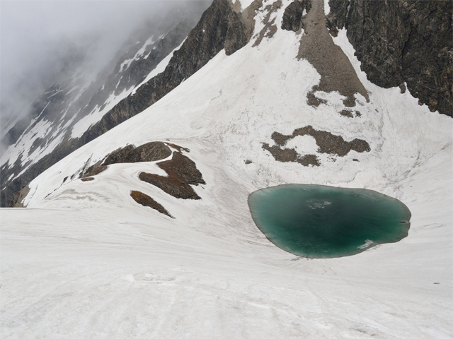 View near Roopkund Lake