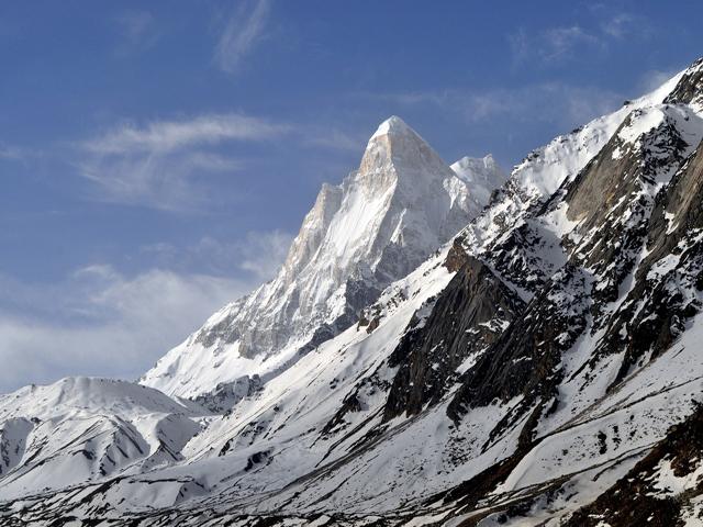 Shivling Peak in Garhwal Himalaya