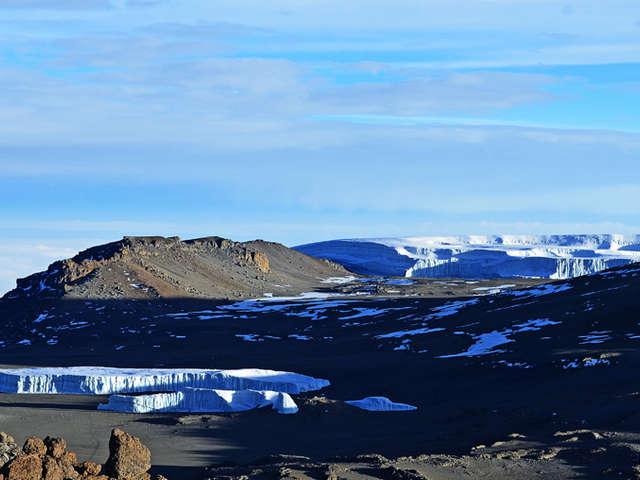 Ice Fields of Kilimanjaro