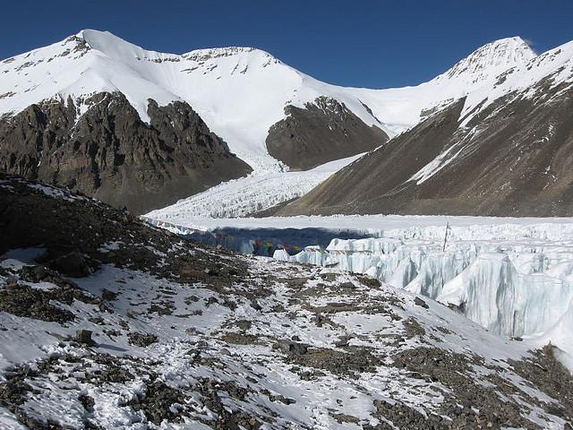 Khartaphu Peak and Everest Advanced Base Camp