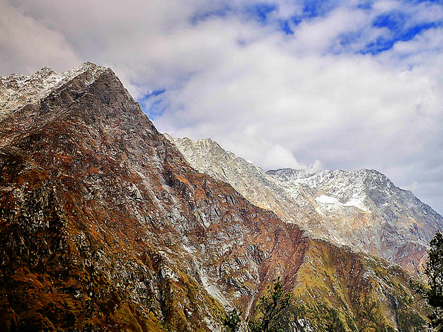 Dhauladhars or White Mountains are a range of the Himalayas