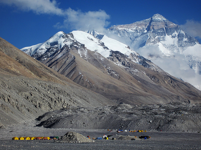 Mount Everest Advance Base Camp