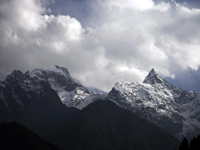 Kinnaur Kailash Range in Himachal Pradesh