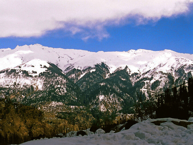 Solang Valley on Beas Kund Trek