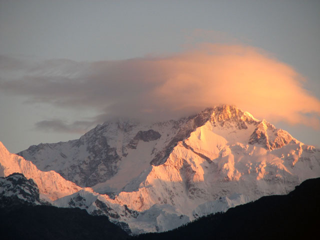 Clouds over Kanchenjunga