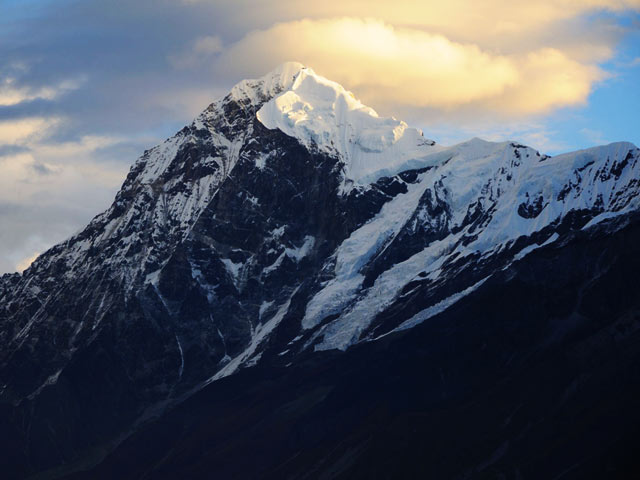 Mount Pandim enroute to Goecha La