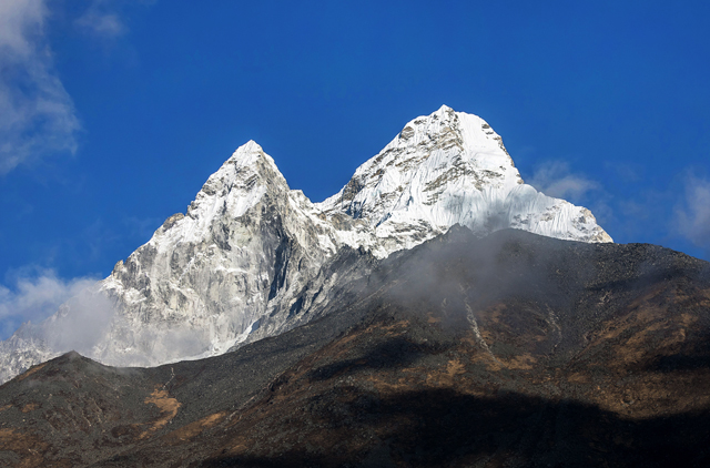 Ama Dablam seen on Everest Base Camp Trek