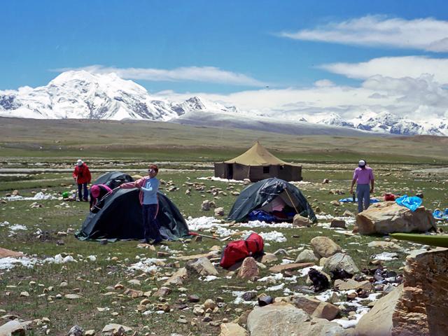 Mount Shishapangma Base Camp
