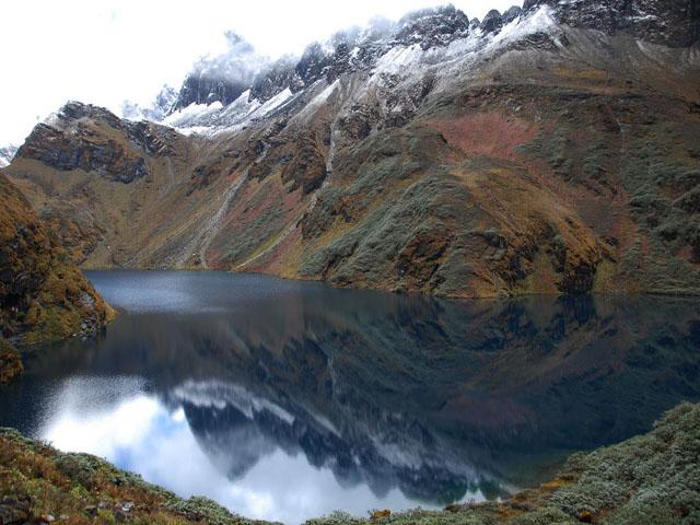 Oomta Lake on Snowman Trek