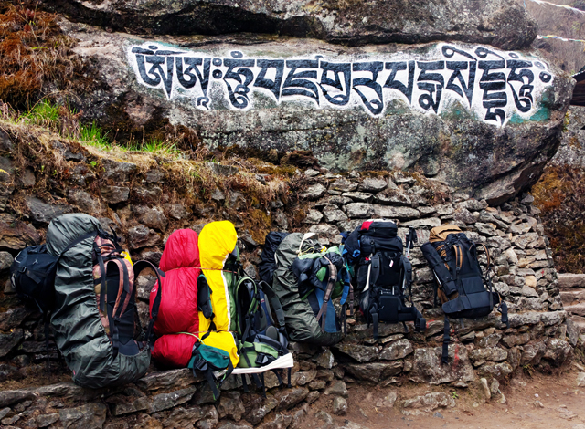 Buddhist Mantras Everest Base Camp Trek