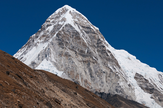 Pumori (7161 m) seen on Everest Base Camp Trek