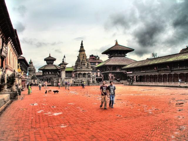 View of  Bhaktapur - Nepal