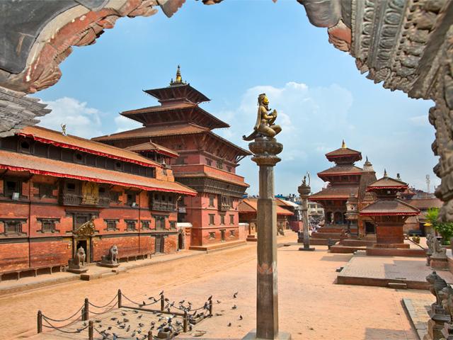 Durbar Sqaure in Patan