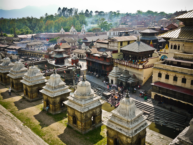 Pashupatinath Temples and Ghats