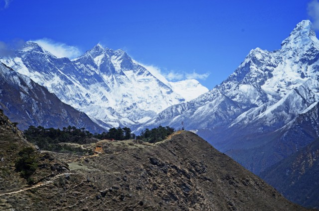4 Great Day Hikes from Namche Bazaar