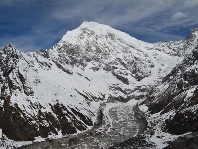 Langtang Lirung at 7227m
