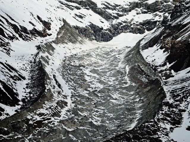 Lirung Tsang Glacier
